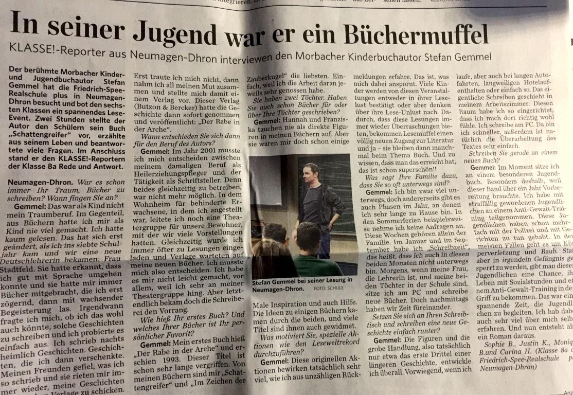 Stefan Gemmel Artikel (Medium)